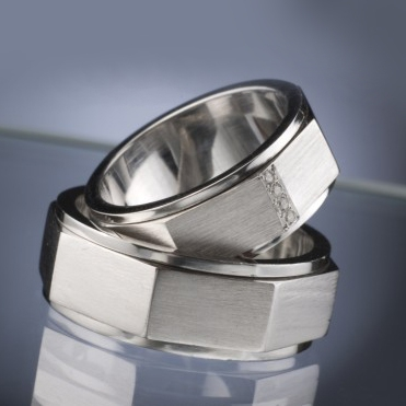 Snubní prsteny s diamanty vzor č. SN41