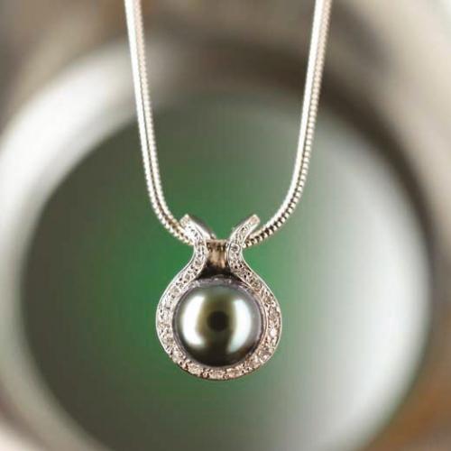 Náhrdelník Tahitská perla