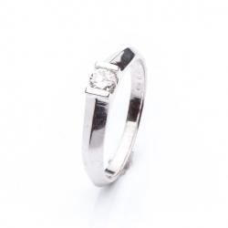 Prsten s diamantem vzor č. 0107