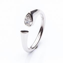 Prsten kapka Diamant vzor č. 0136