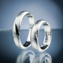 Snubní prsteny s diamantem vzor č. SN62