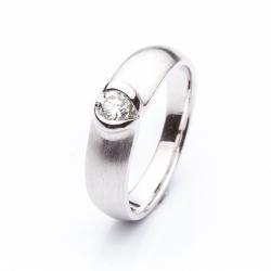 Prsten s diamantem vzor č. 0147