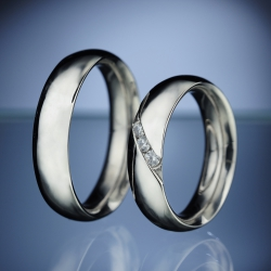 Wedding rings model nr. SN4