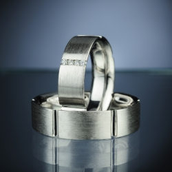 Wedding rings model nr. SN6