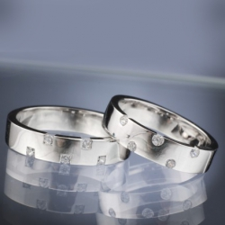 Wedding rings model nr. SN29