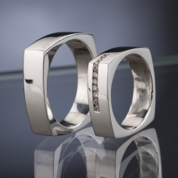 Wedding rings model nr. SN37