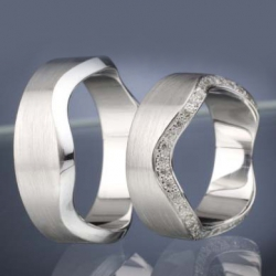 Wedding rings model nr. SN42