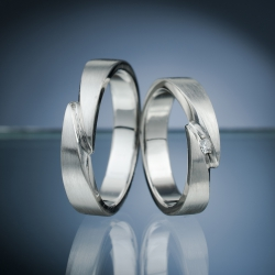 Wedding rings model nr. SN61