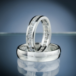 Wedding rings model nr. SN64