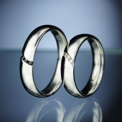 Wedding rings model nr. SN81