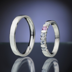 Wedding rings model nr. SN84
