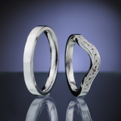 Wedding rings model nr. SN88