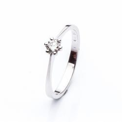 Zásnubní Prsten s diamantem vzor č. 0140