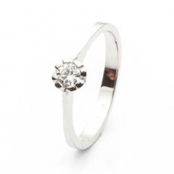 Zásnubní prsten s diamantem vzor č. 0151