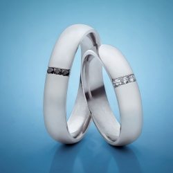 Wedding rings with diamonds model nr. SN18