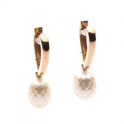 Náušnice s broušenými perlami vzor č. N0069
