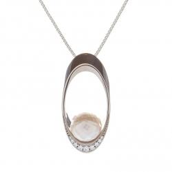 Přívěšek s mořskou perlou vzor č. 0227