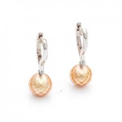 Náušnice s mořskými perlami