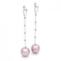 Náušnice s broušenými perlami