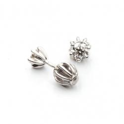 Náušnice s diamantem vzor č. 0068