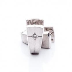 Náušnice s diamantem vzor č. 0066
