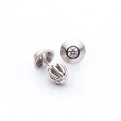 Náušnice s diamantem vzor č. 0010