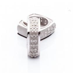 Náušnice s diamanty vzor č. 0015