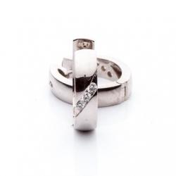 Náušnice s diamanty vzor č. 0063