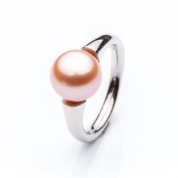 Prsten s mořskou perlou vzor č. 0162